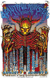 1999 Marilyn Manson, Megadeth, & the Misfits Poster by Emek