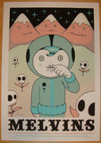 2008 The Melvins - Silkscreen Concert Poster by Tara McPherson