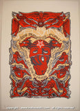 2008 The Melvins Silkscreen Concert Poster by Malleus & Forbes