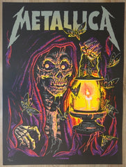 2018 Metallica - Lincoln Silkscreen Concert Poster by Munk One