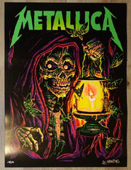 2018 Metallica - Lincoln AE Silkscreen Concert Poster by Munk One