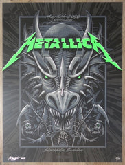 2018 Metallica - Stockholm I AE Silkscreen Concert Poster by Mark5