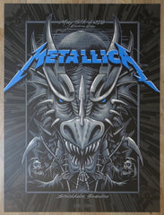 2018 Metallica - Stockholm I Silkscreen Concert Poster by Mark5