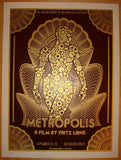 "2010 ""Metropolis"" - Red Movie Poster by David O'Daniel"