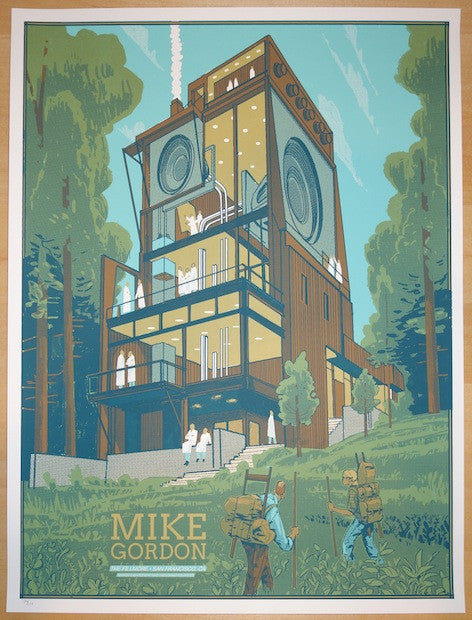 2014 Mike Gordon - San Francisco Concert Poster by Rich Kelly