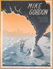 2016 Mike Gordon - Cambridge Silkscreen Concert Poster by Justin Santora