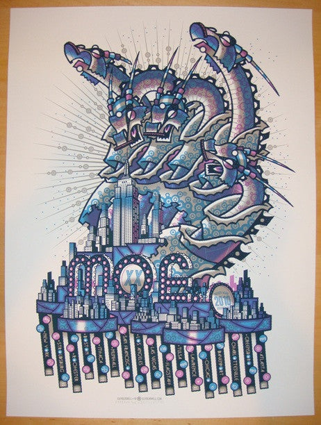 2010 Moe. - 20th Anniversary Tour Poster by Guy Burwell