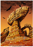 2005 Moe w/ Gov't Mule & Mike Gordon Concert Poster by Emek
