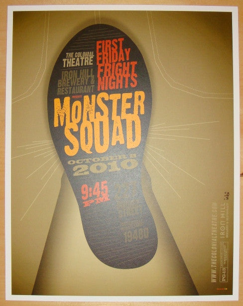 "2010 ""Monster Squad"" - Giclee Movie Poster by Tom Whalen"