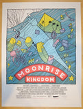 "2013 ""Moonrise Kingdom"" - Silkscreen Movie Poster by Jay Ryan"