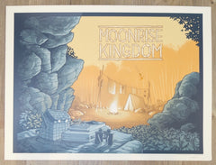 "2017 ""Moonrise Kingdom"" - Silkscreen Movie Poster by Justin Santora"