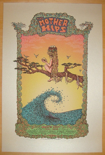 2010 The Mother Hips - AE Fall Tour Poster by Marq Spusta
