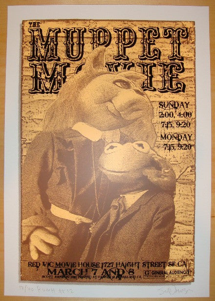 "2010 ""Muppet Movie"" - Movie Poster by Johnson & Firehouse"