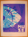 2013 Muse - Toronto II Silkscreen Concert Poster by Vastagh