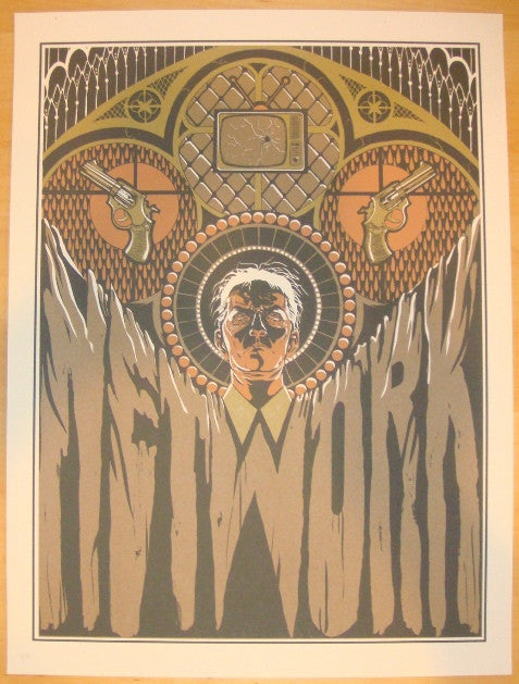 "2011 ""Network"" - Silkscreen Movie Poster by Mayra Fersner"