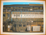 2010 The New Pornographers - Chicago Concert Poster by Crosshair