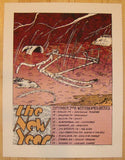 2008 The New Year - West Coast Tour Poster by Jay Ryan