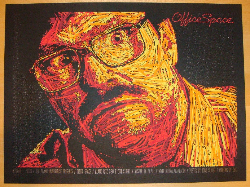 "2009 ""Office Space"" - Silkscreen Movie Poster by Todd Slater"