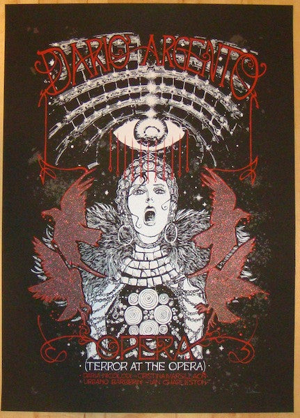 "2012 ""Opera"" - Silkscreen Movie Poster by Malleus"