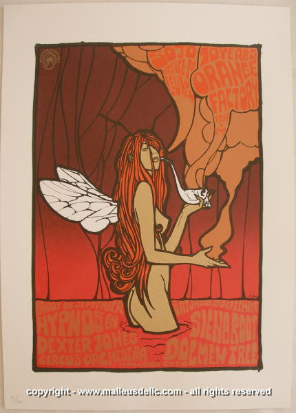 2007 Orange Factory 10th Anniversary Silkscreen Poster - Malleus