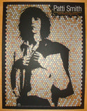 2010 Patti Smith - Silkscreen Concert Poster by Todd Slater