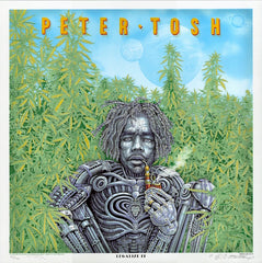 2020 Peter Tosh - Legalize It 45th Anniversary Silkscreen Poster by Emek