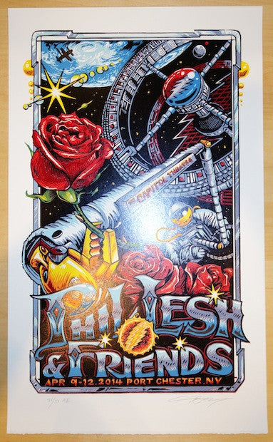 2014 Phil Lesh - Port Chester II Concert Poster by AJ Masthay