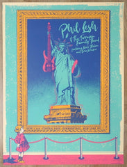 2018 Phil Lesh - NYC Silkscreen Concert Poster by Status Serigraph