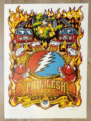2016 Phil Lesh & Friends - Port Chester Stonehenge Variant Concert Poster by AJ Masthay