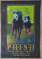 2004 Phish - SPAC Silkscreen Concert Poster by Jeff Wood