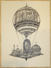 2010 Phish - Chicago Key Line Proof Silkscreen Concert Poster by Dan Grzeca