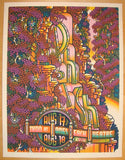 2010 Phish - Wantagh Silkscreen Concert Poster by Guy Burwell