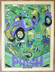 2016 Phish - St. Paul Silkscreen Concert Poster by Tyler Stout