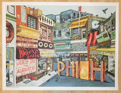 2017 Phish - NYC Silkscreen Concert Poster by Landland