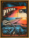 2013 The Pixies - LA II Silkscreen Concert Poster by Mark 5