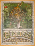 2014 The Pixies - Asheville Concert Poster by Sergio Moctezuma