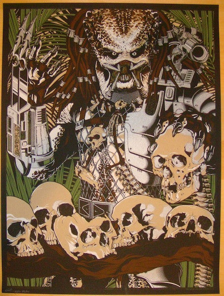 "2012 ""Predator"" - Silkscreen Movie Poster by Anthony Petrie"