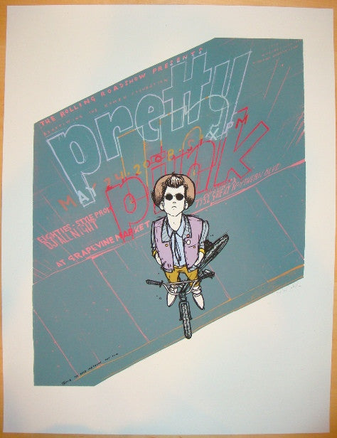 "2008 ""Pretty in Pink"" - Silkscreen Movie Poster by Jay Ryan"