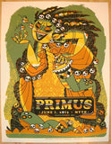 2013 Primus - St. Paul Silkscreen Concert Poster by Guy Burwell