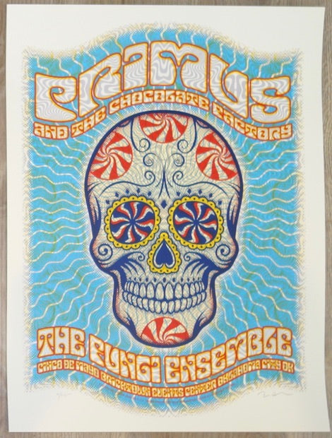 2015 Primus - Oklahoma City Silkscreen Concert Poster by Dave Hunter
