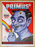 2017 Primus - Los Angeles II Silkscreen Concert Poster by Zombie Yeti and Zoltron
