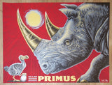 2018 Primus - Austin Silkscreen Concert Poster by Todd Slater