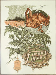 2018 Primus - Deadwood Silkscreen Concert Poster by Calvin Laituri