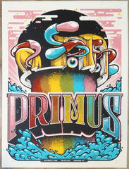 2018 Primus - Madison Silkscreen Concert Poster by Twin Home Prints