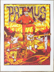 2019 Primus - Missoula Silkscreen Concert Poster by Jim Mazza