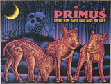 2019 Primus - NYC Silkscreen Concert Poster by Todd Slater