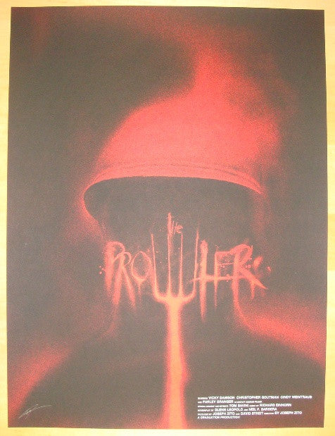 "2012 ""The Prowler"" - Silkscreen Movie Poster by Jay Shaw"