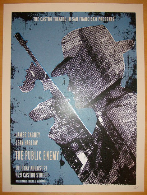 "2010 ""The Public Enemy"" - Movie Poster by David O'Daniel"
