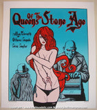 2008 Queens of the Stone Age Concert Poster by Malleus & Hampton