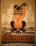 2006 The Raconteurs - Atlanta Concert Poster by Rob Jones